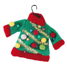 amazon com ugly sweater ornament home u0026 kitchen