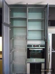 Aluminum Kitchen Cabinets Metalife Aluminium Tall Cabinet Johor Bahru Jb Malaysia Aluminum