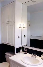 Bathroom Wall Cabinets Over The Toilet by Extra Bathroom Storage Built In Cabinet Above The Toilet Le