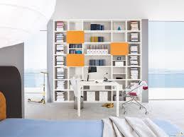 libreria per cameretta per cameretta con scrivania almond