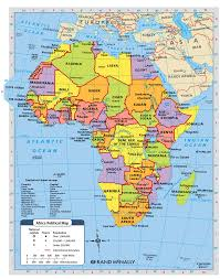 Physical Africa Map by This Map Shows What Africa Looks Like Today Africa Would Not Have