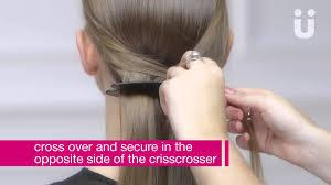 scunci easy plait scünci create the look the fishtail plait