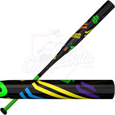 demarini dinger slinger slowpitch softball bat usssa end loaded