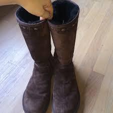 ugg shoes australia brown boots poshmark 73 ugg shoes ugg australia joplin stud boots size 8