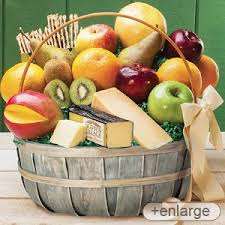fruit and cheese baskets cheese gift basket