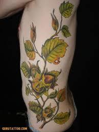witch hazel hurdles books tree tattoos botany rib tattoos