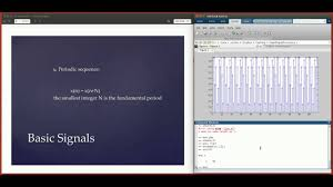 digital signal processing using matlab 1 basic signals and