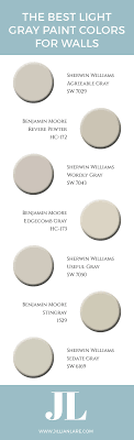 benjamin moore light gray colors the best light gray paint colors for walls jillian lare des