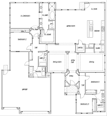 simple house plans 4 bedrooms images bedroom floor one story