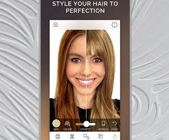 hair color simulator modiface hair color hairsstyles co