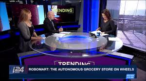robomart the autonomous grocery store on wheels youtube