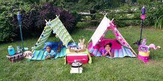 Camping In The Backyard Backyard Camping Design Dazzle
