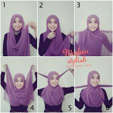 tutorial hijab turban untuk santai hijab tutorial for beginners ii tutorials hijabs and scarves