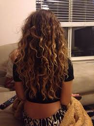 hair curly natural highlights brunette long all