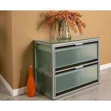 Modern Lateral File Cabinet Glass File Cabinet With Frosted Glass Front Filing Cabinet