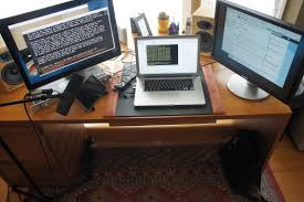 the workspace of a modern programmer