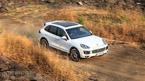 porsche suv in india 2015 porsche cayenne diesel india road test review overdrive