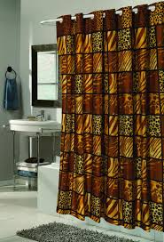 Colorful Fabric Shower Curtains Carnation Home Fashions Inc