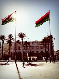 Libyas Flag Libyan Flag Shared By Wado O On We Heart It