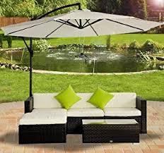 Lime Green Corner Sofa Outsunny Rattan Wicker Conservatory Outdoor Garden Patio Furniture