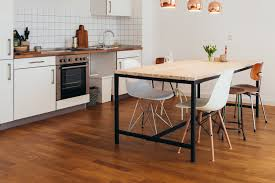 flooring modern kitchen design with mid century dining chairs and