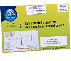 direct mail postcards with personalized maps postcard templates