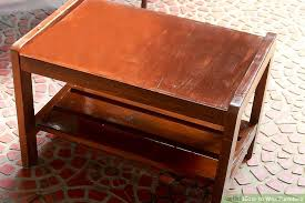 wax for wood table how to wax furniture 6 steps with pictures wikihow
