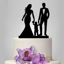 and groom cake toppers wedding cake topper with child and groom cake topper with