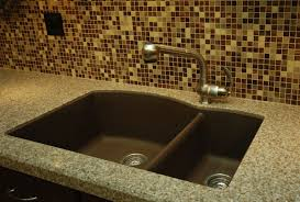 Composite Kitchen Sink Reviews by Kitchen U0026 Dining Lovely Kitchen With Double Basin Undermunt