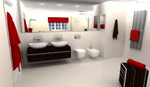 virtual worlds 3d interior fair bathroom and kitchen design