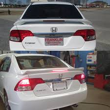 difference between honda civic lx and ex difference between these 2 spoilers 8th generation honda