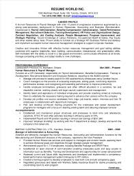 hr resume exles 9 hr resume exles pdf