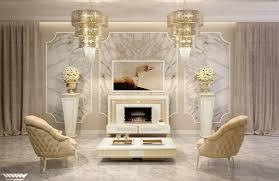 contemporary art deco living room with american walnut tall mirror art deco living room