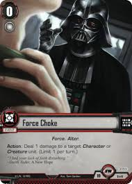 darth vader force choke dark lord of the sith fantasy flight games