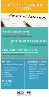 General And Special Power Of Attorney by Tips For Nris U0027 Power Of Attorney Visual Ly