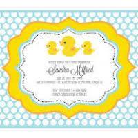 duck baby shower invitations ducky baby shower invitations justsingit