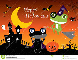 Animated Halloween Graphics by Halloween Frogs Stock Images Image 21723994