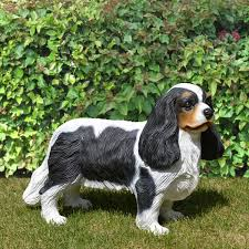 cavalier king charles spaniel 17 size statue
