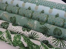 Hawaiian Curtain Fabric Tropical Fabric Ebay