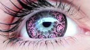 halloween contacts cheap hello kitty contact lenses debut in japan youtube