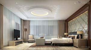 Brown Interior Design by Bedroom Ceiling Art Ideas Gorgeous Modern Bedroom Design With