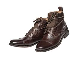 levis men u0027s leather shoes emerson ankle boots black or brown ebay