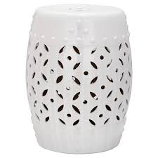 Ceramic Accent Table Accent Garden Stools You Ll Wayfair
