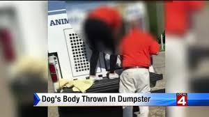 westland animal control worker fired after dumping dog u0027s body