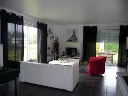 salon moderne noir et blanc emejing model noiretblanc pictures 3