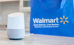 google and walmart team up to take on amazon with voice assistant