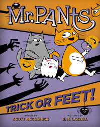 Halloween Graphic Novel by Amazon Com Mr Pants Trick Or Feet 9780525428114 Scott