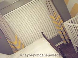 Grey And White Wall Decor Wall Decor Chevron Curtains In Grey And White With Black Rings