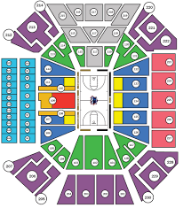 Staples Center Seat Map Depaul University Official Athletic Site None Depaul University