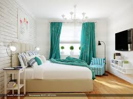 Splash Home Decor Turquoise Splash Of Color In Otherwise Neutral And Modern Bedroom